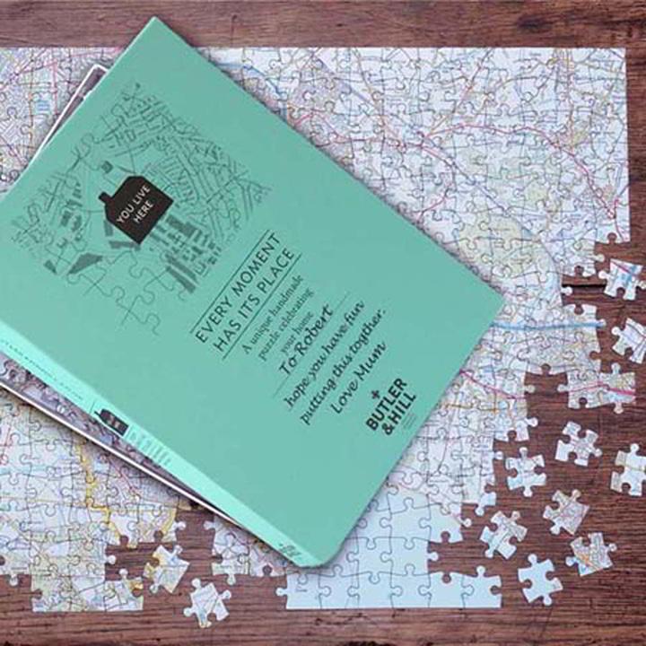 Personalised Landranger Jigsaw Puzzle
