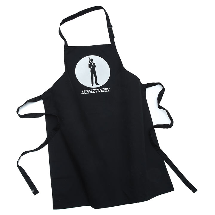 Personalised Licence to Grill Apron