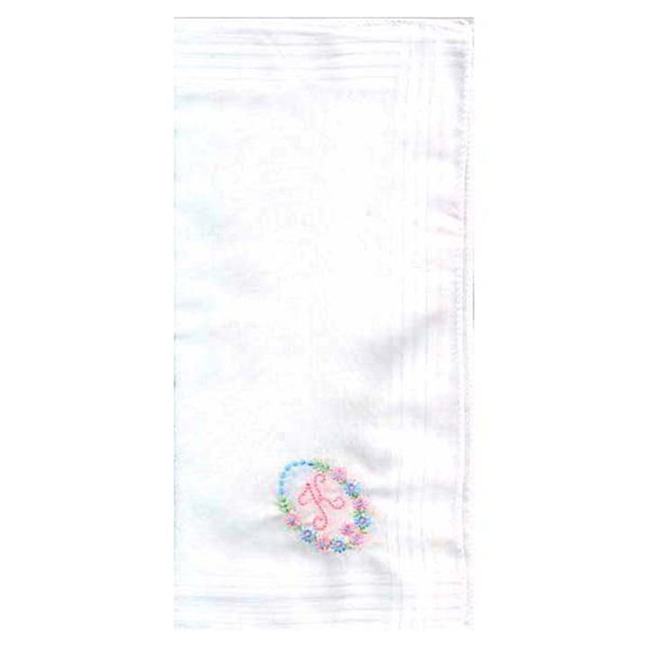 Personalised Ladies Initial Hankies