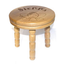 Personalised Stool - Princess