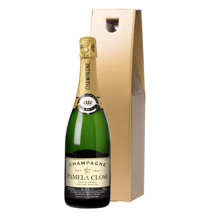 Personalised champagne gifts for him gift ideas for Gardening gifts for him