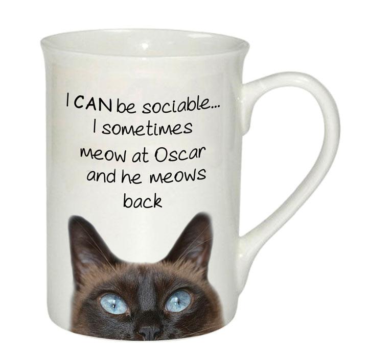Sociable Mug - Cat