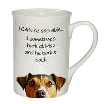 Sociable Mug - Jack Russell Dog