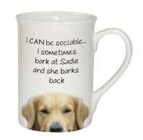 Sociable Mug - Golden Retriever Dog