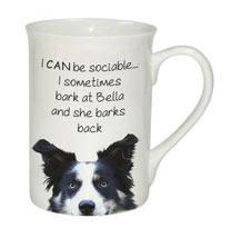Sociable Mug - Border Collie