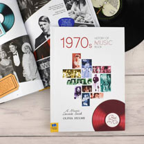 Personalised 1970s History of Music