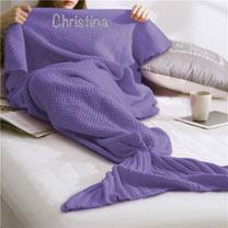 Personalised Mermaid Blanket