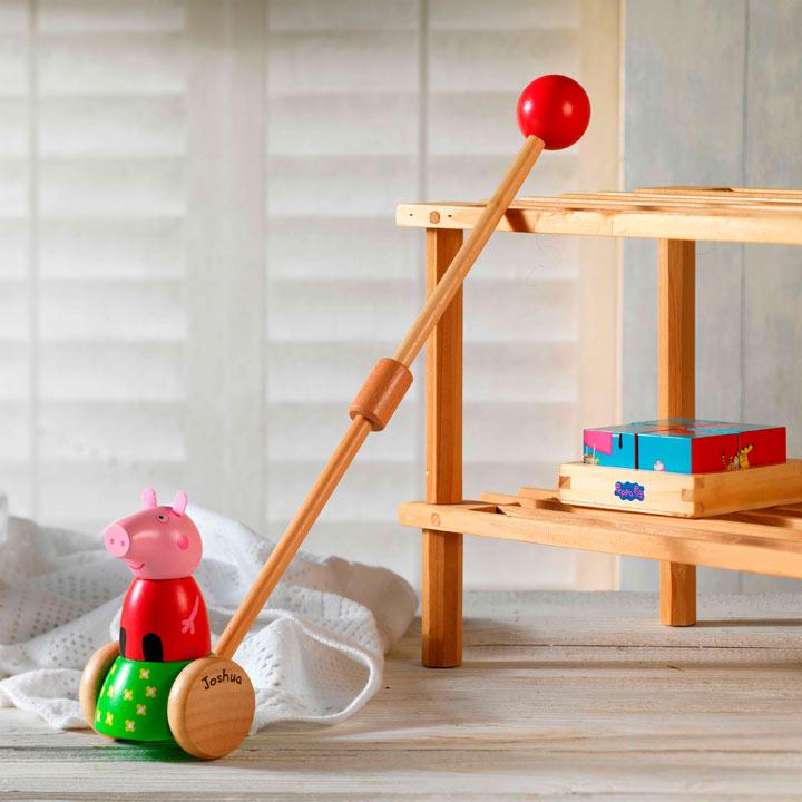 Personalised Push Along Toy