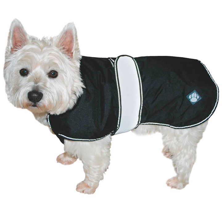 2 in 1 Dog Coat - Black