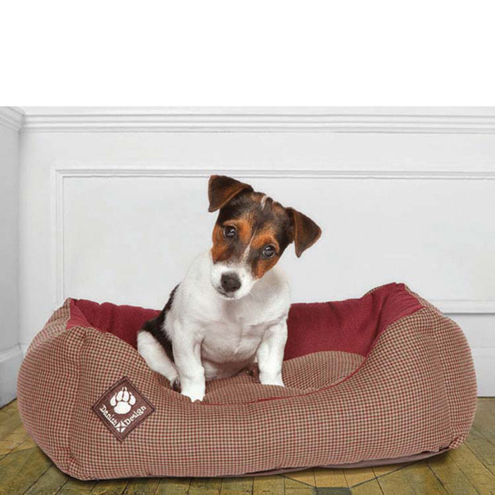 Snuggle Bed - Houndstooth