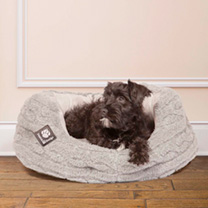 Bobble Slumber Bed Grey - 61cm