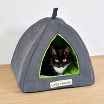Cat Igloo Green
