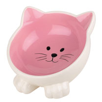 Orb Cat Bowl - PInk