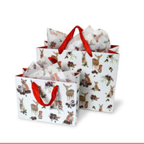 Forest Friends Tissue Paper / Gift Bags