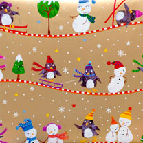 Penguins & Pals Wrap