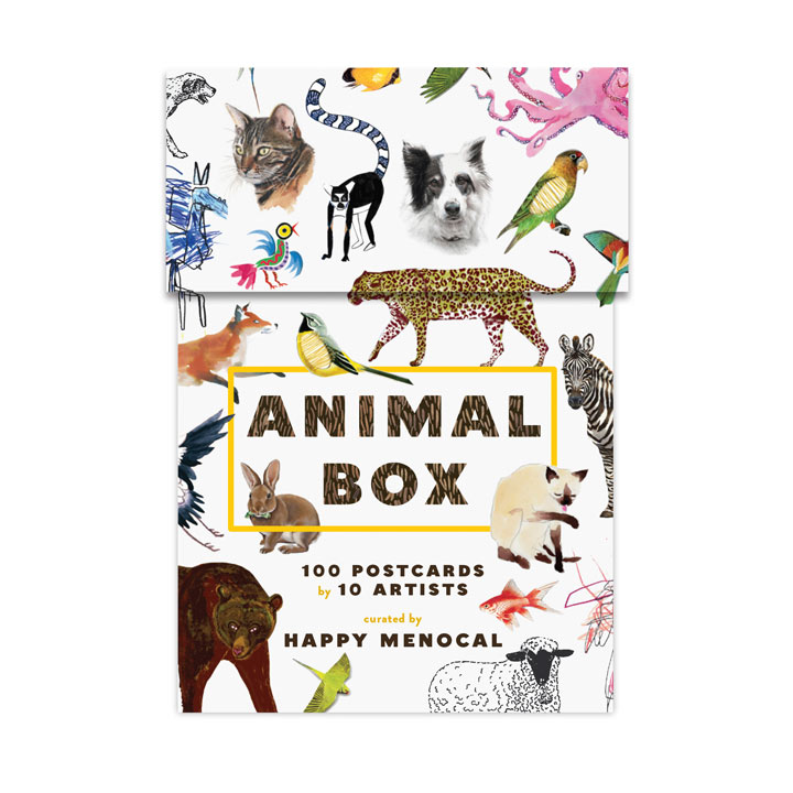 Animal Box Postcards