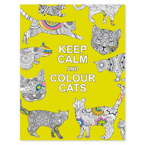 Keep Calm & Colour - Cats