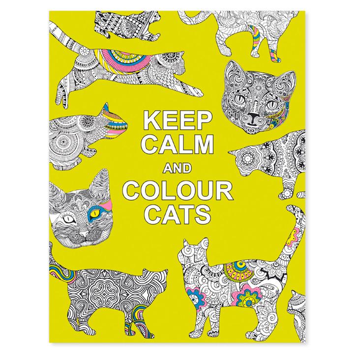 Keep Calm & Colour - Cats