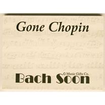 Gone Chopin Sticky Notes
