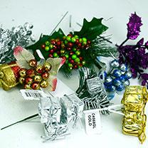 Floral Christmas Picks