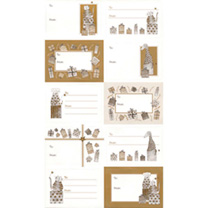 Animal Gift Labels