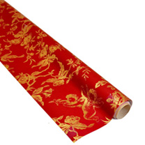Festive Flowers Wrapping Paper
