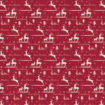 Flat Wrap Sheets - Christmas Reindeer