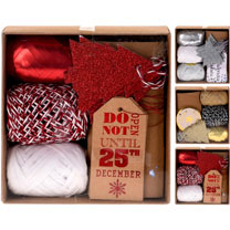 Ribbon & Tag Pack - Red