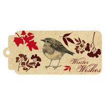 Flat Wrap - Vintage Birds