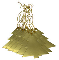 Gift Tags - Gold Tree