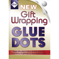Gift Wrapping Glue Dots