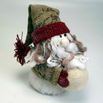 Christmas Decorations - Santa & Snowman