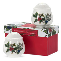 Holly & Ivy Salt & Pepper Set