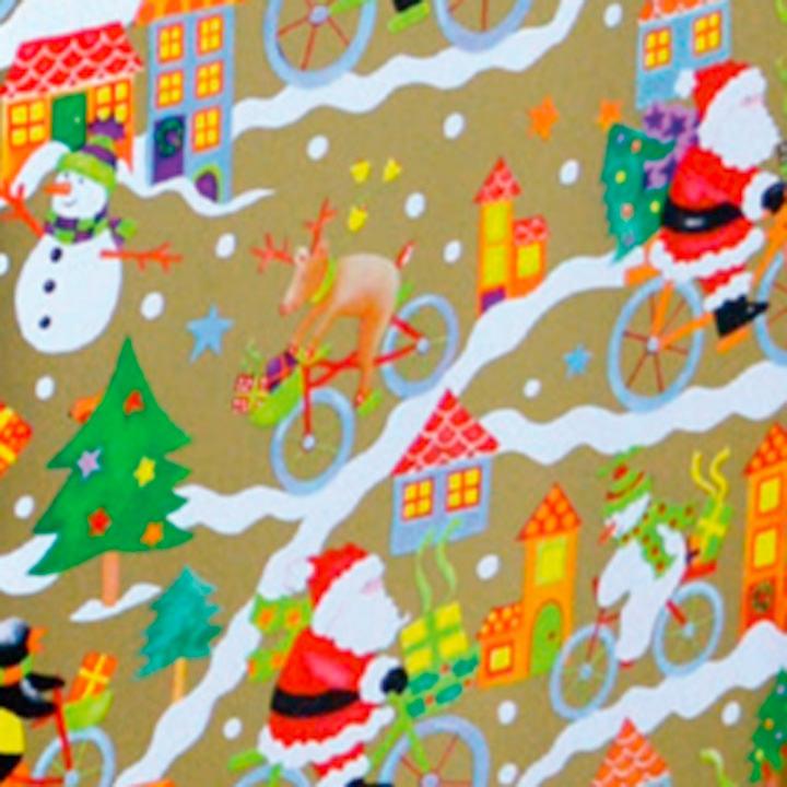 Santa & Snowman Wrap