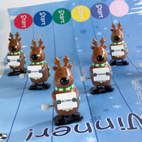 Racing Glitter Reindeer Crackers
