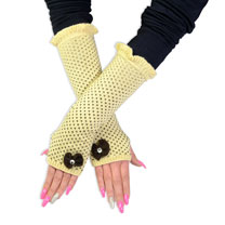 Knitted Long Gloves