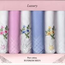 Floral Hankies & Scarf