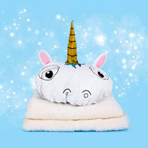 Unicorn Shower Cap / Eye Mask