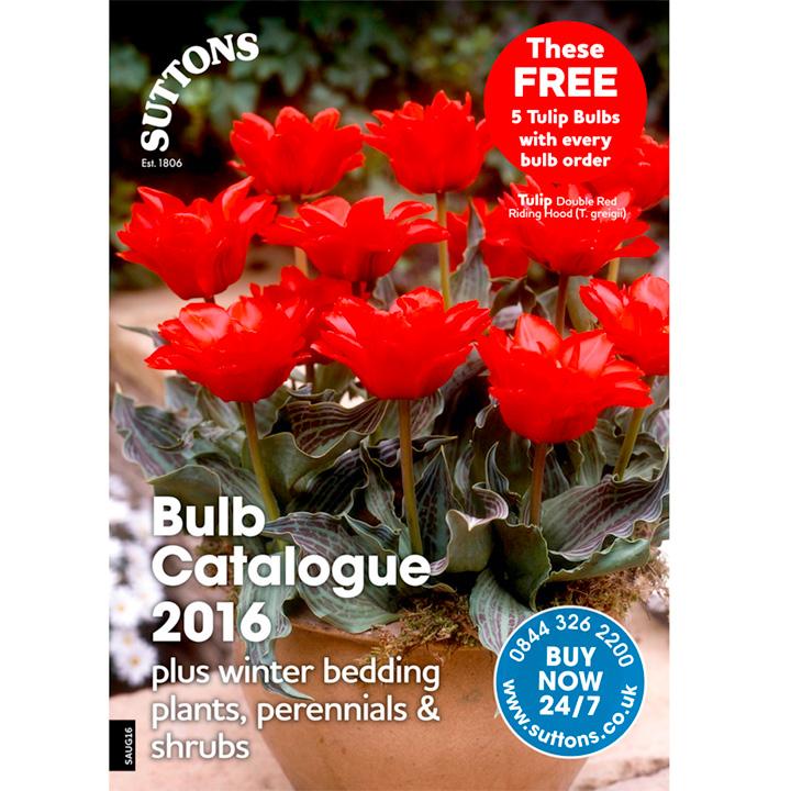 Suttons Bulb Catalogue 2016 including Flower & Veg Plants