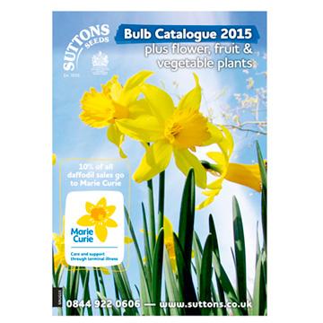 Suttons Bulb Catalogue 2015 including Flower & Veg Plants