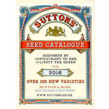 Suttons Seed Catalogue 2015