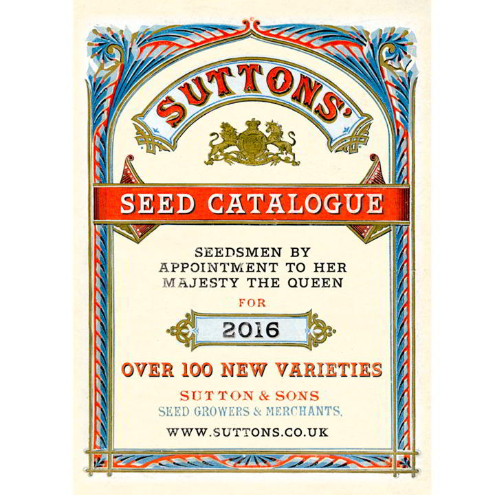 Suttons Seed Catalogue 2016