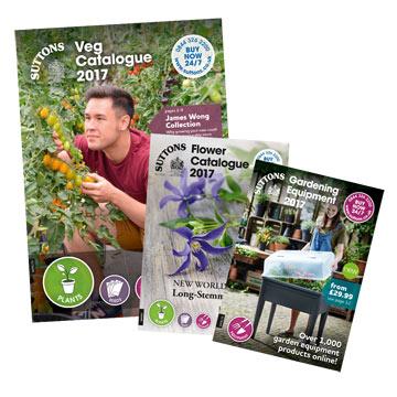 Suttons Flower Plants, Vegetable Plants, Equipment Catalogues