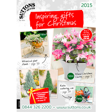 Suttons Inspiring Gifts For Christmas 2015 Catalogue