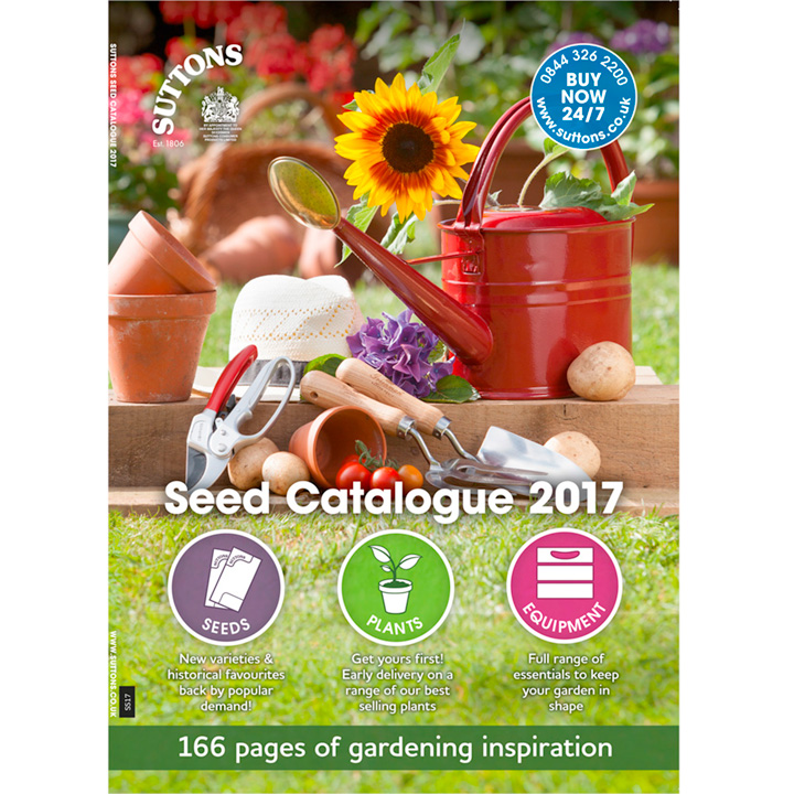 Order your Gardening Catalogue from Suttons Seeds Suttons Seeds