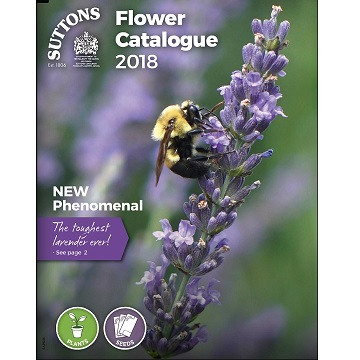 Suttons Flowers, Veg and Equipment for Spring 2018