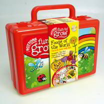 Fun To Grow Veg Seed Kit - Food Of The World Lunch Box