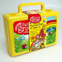 Fun To Grow Flower Kit - Butterflies & Bees Lunch Box