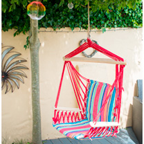 Hammock - Blue Stripe or Red Stripe