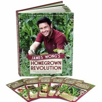 James Wong's Homegrown Revolution Book + 3 FREE Cha Cha Chive Plants